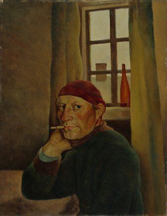 Vilho Lampi: Omakuva (1933). Kansallisgalleria / Ateneumin taidemuseo. Kuva: Janne Tuominen