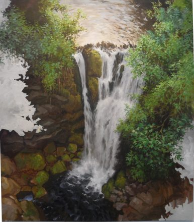 Taneli Stenberg: Rip in Time: Waterfall, 2014