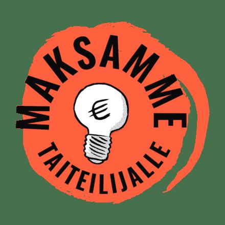 Reilun taiteen manifesti -kampanjan logo