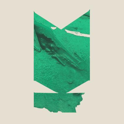 Kitin värisellä taustalla on keskellä Kuvaston vihreä, rikottu tunnus, jossa näkyy siveltimellä tehty maalijälki.